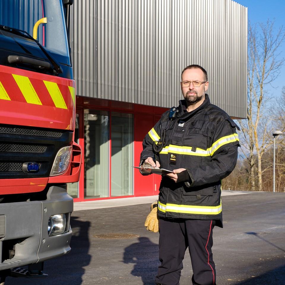En 2020, les travaux d'extension à la RAMA se sont poursuivis, permettant la livraison en octobre de cet important projet pour la formation des sapeurs-pompiers.